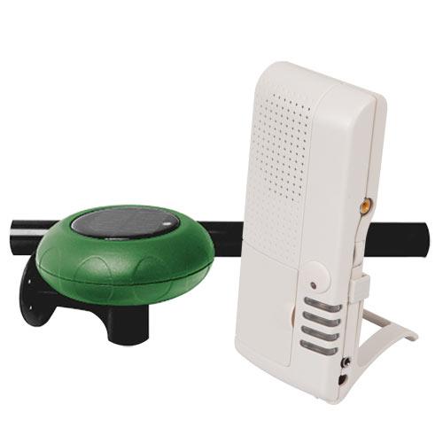 STI Wireless Driveway Monitor Kit With Voice Receiver, Solar Powered (STI-V34100)