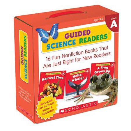 Science Vocabulary Readers - Guided Science Readers: Level A