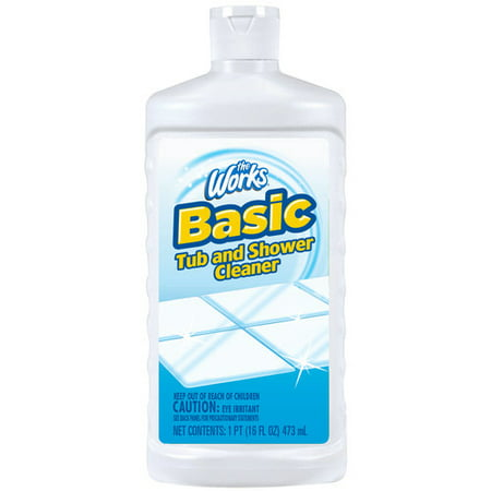 The Works Basic Tub and Shower Cleaner, 16 fl oz