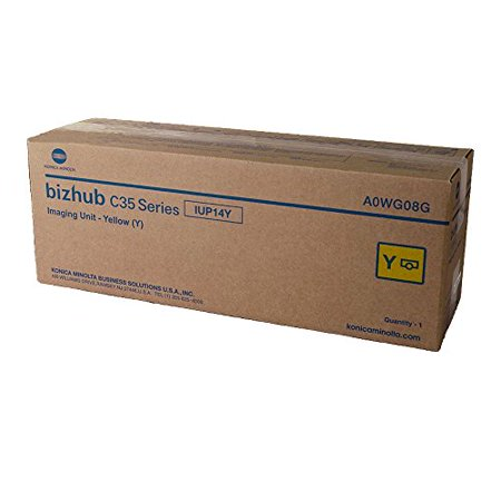 Konica Minolta BIZHUB C25 Yellow Original Drum Unit (30,000 Yield) (Original Yellow Drum Unit)