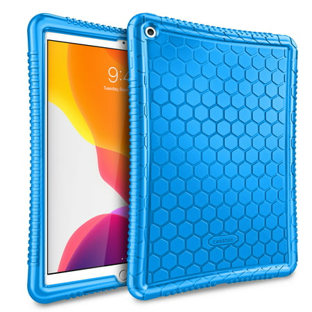 Fintie Silicone Case for 2019 iPad 10.2 Inch ( 7th Gen ) - Kids Friendly Shockproof Protective Cover 102 Carrying Case
