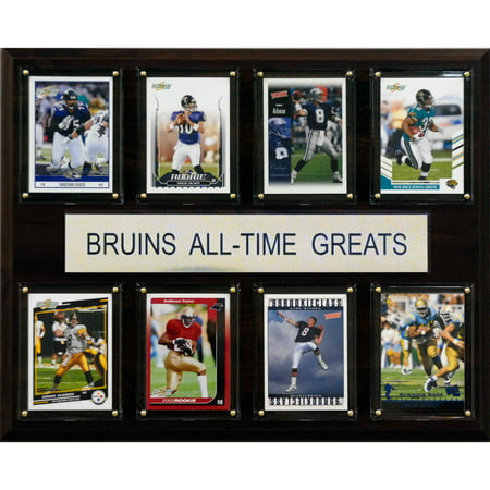 - C&I Collectables NCAA Football 12x15 UCLA Bruins All-Time Greats Plaque