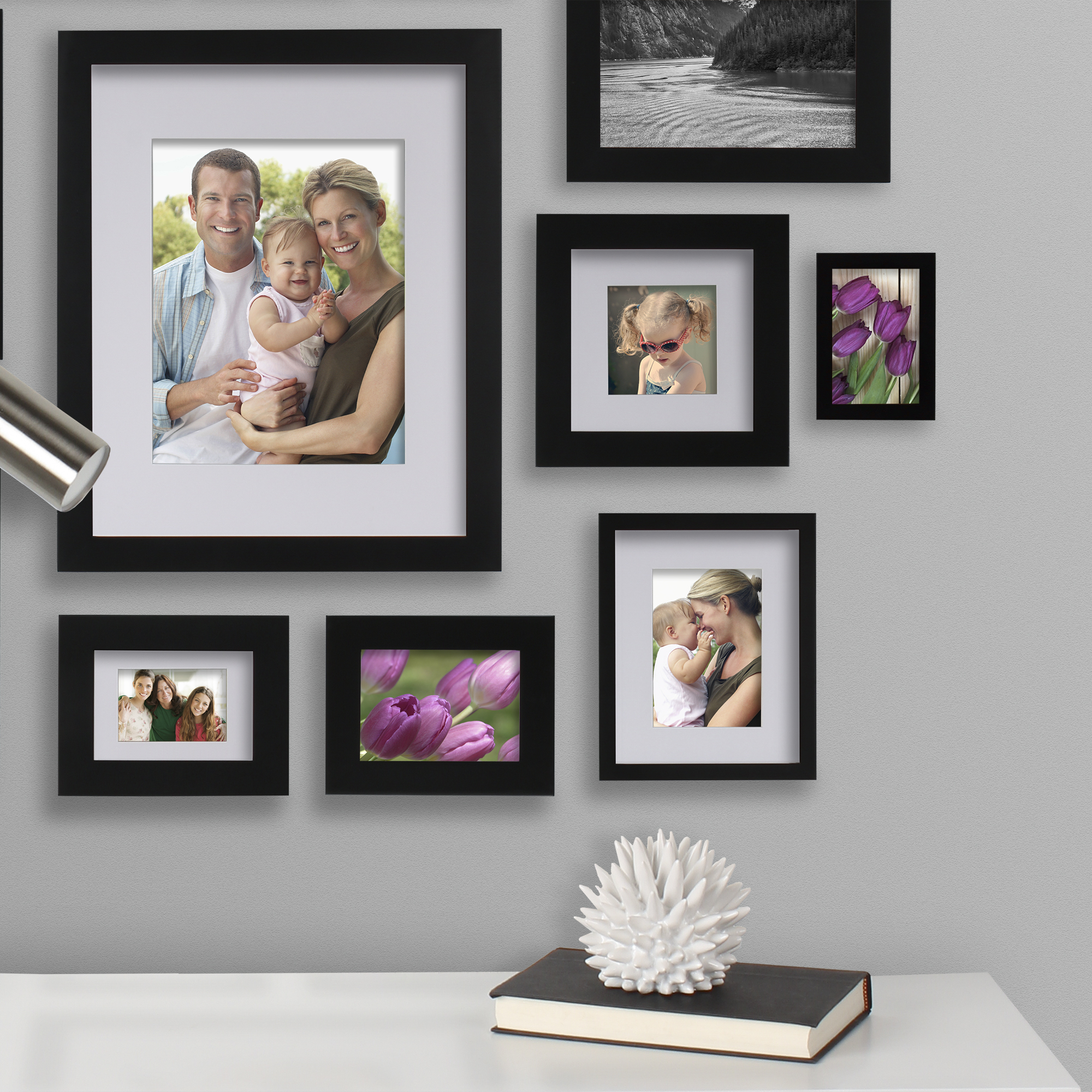 Better homes and gardens black picture frame 16 x 20 matted to better homes and gardens black picture frame 16 x 20 matted to 11 x 14 walmart jeuxipadfo Image collections
