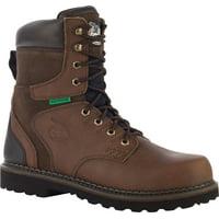 "Men's Georgia Boot G9334 8"" Brookville WP Work Boot ST"