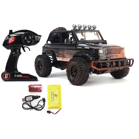 Suv Defender Jeep Wrangler Remote Control Rc Toy Truck 2 4 Ghz 1 12