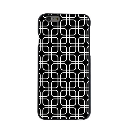 CUSTOM Black Hard Plastic Snap-On Case for Apple iPhone 7 PLUS / 8 PLUS (5.5