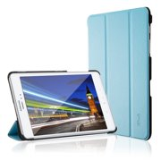 Galaxy Tab A 8.0 Case, JETech® Gold Slim-Fit Smart Case Cover for Samsung Galaxy Tab A 8.0 inch 2015 edition Tablet with Auto Sleep/Wake Feature (Blue)