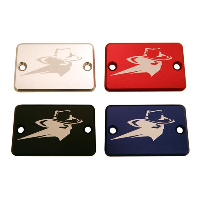 Outlaw Racing OR2018S ATV Billet Master Cylinder Cover, Silver - 2018