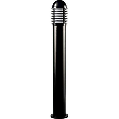 Bollard Light (Dabmar Lighting D3300-B Powder Coated Cast Aluminum Bollard Light, Black - 43.25 x 6.69 x 6.69 in. )