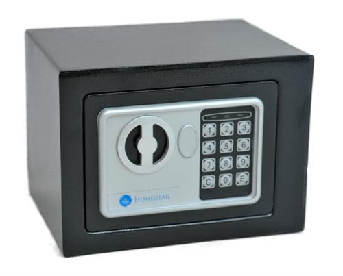 Homegear Small 0.23CF Electronic Safe Gun Hotel Office