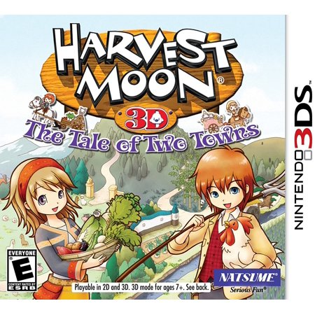 Harvest Moon: Tale of Two Towns - Nintendo 3DS, Choose to play as a boy or as a girl! By (Harvest Moon Friends Of Mineral Town Codebreaker)
