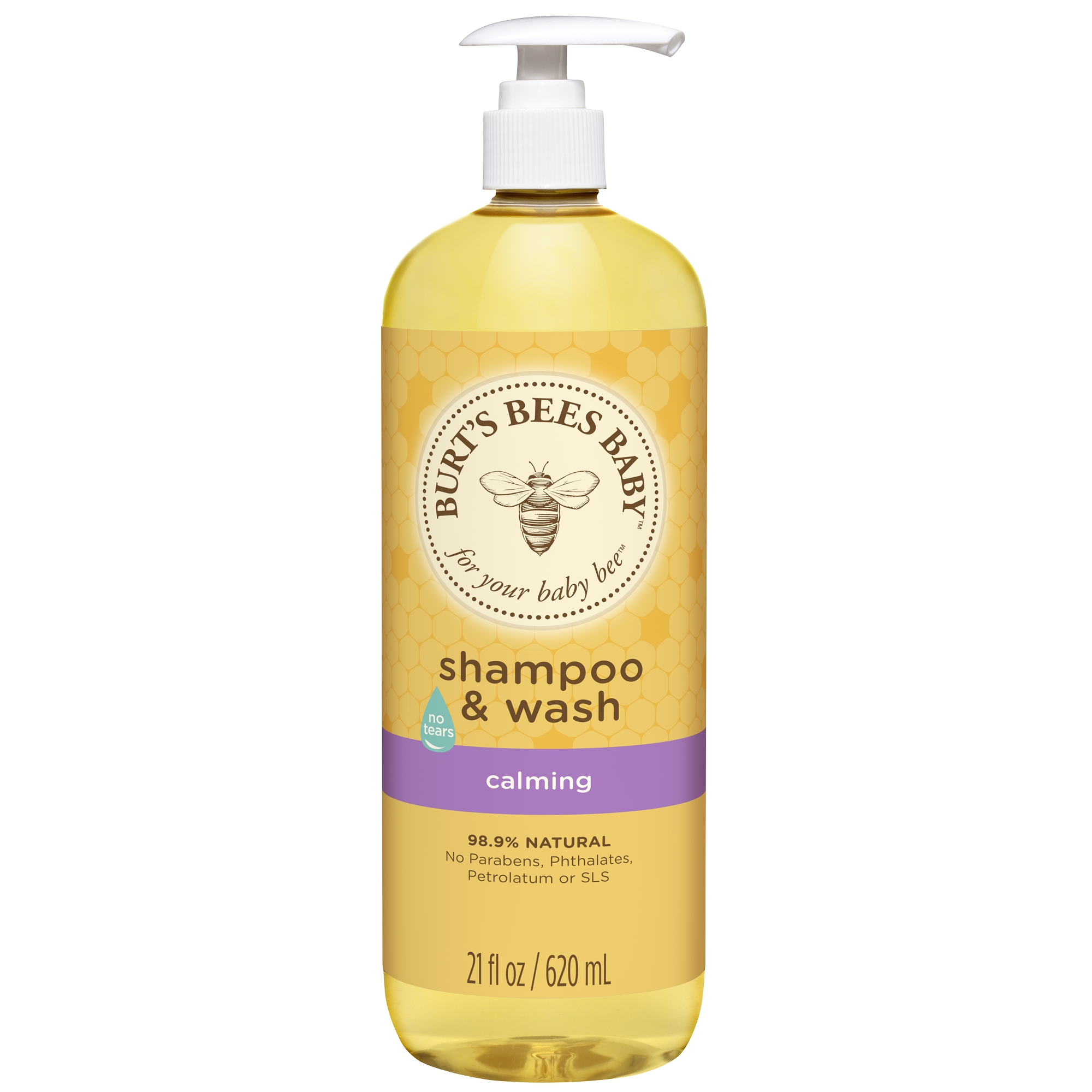Burt's Bees Baby Shampoo and Wash, Calming, 21 Ounces