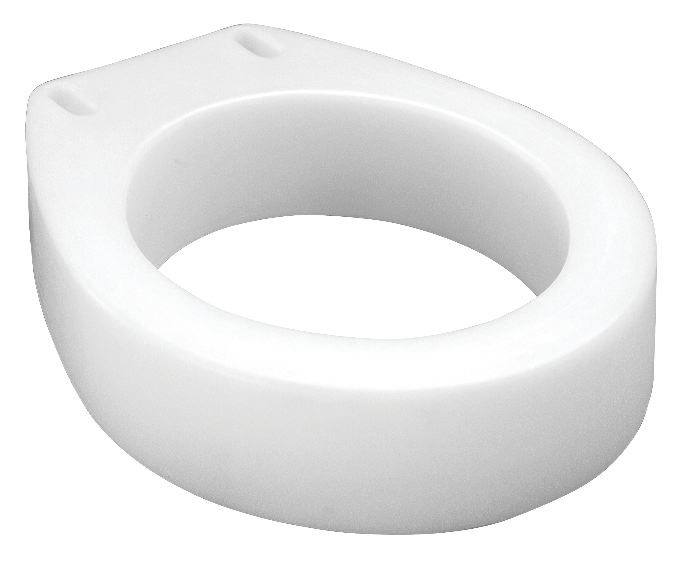 Carex Raised Toilet Seat Elevator Round Standard Shape