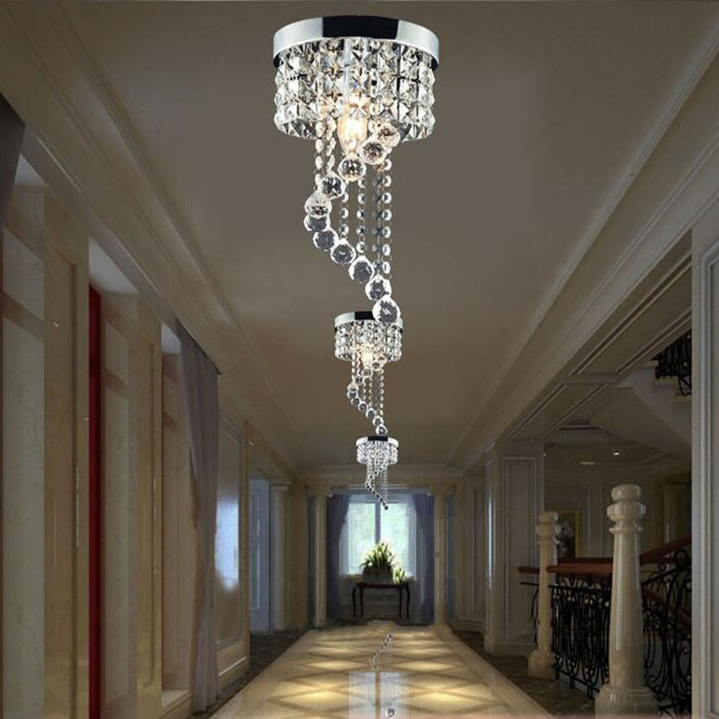 Crystal Chandelier Modern Ceiling Light Pendant Lamp For Living Room,Dining Room,Home Decorative Lamp by