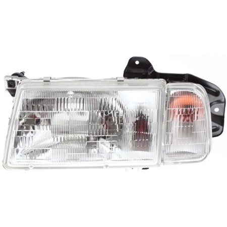 Go-Parts OE Replacement for 1998 Chevrolet Tracker Front Headlight Assembly Housing / Lens / Cover - Left (Driver) Side 30020200 GM2502179 Replacement For Chevrolet Tracker