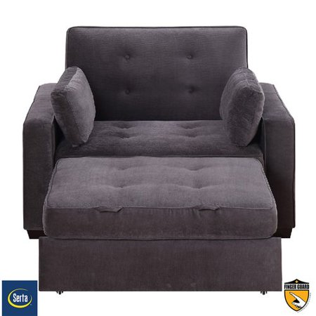 Serta Futons Anderson Twin Convertible Chair