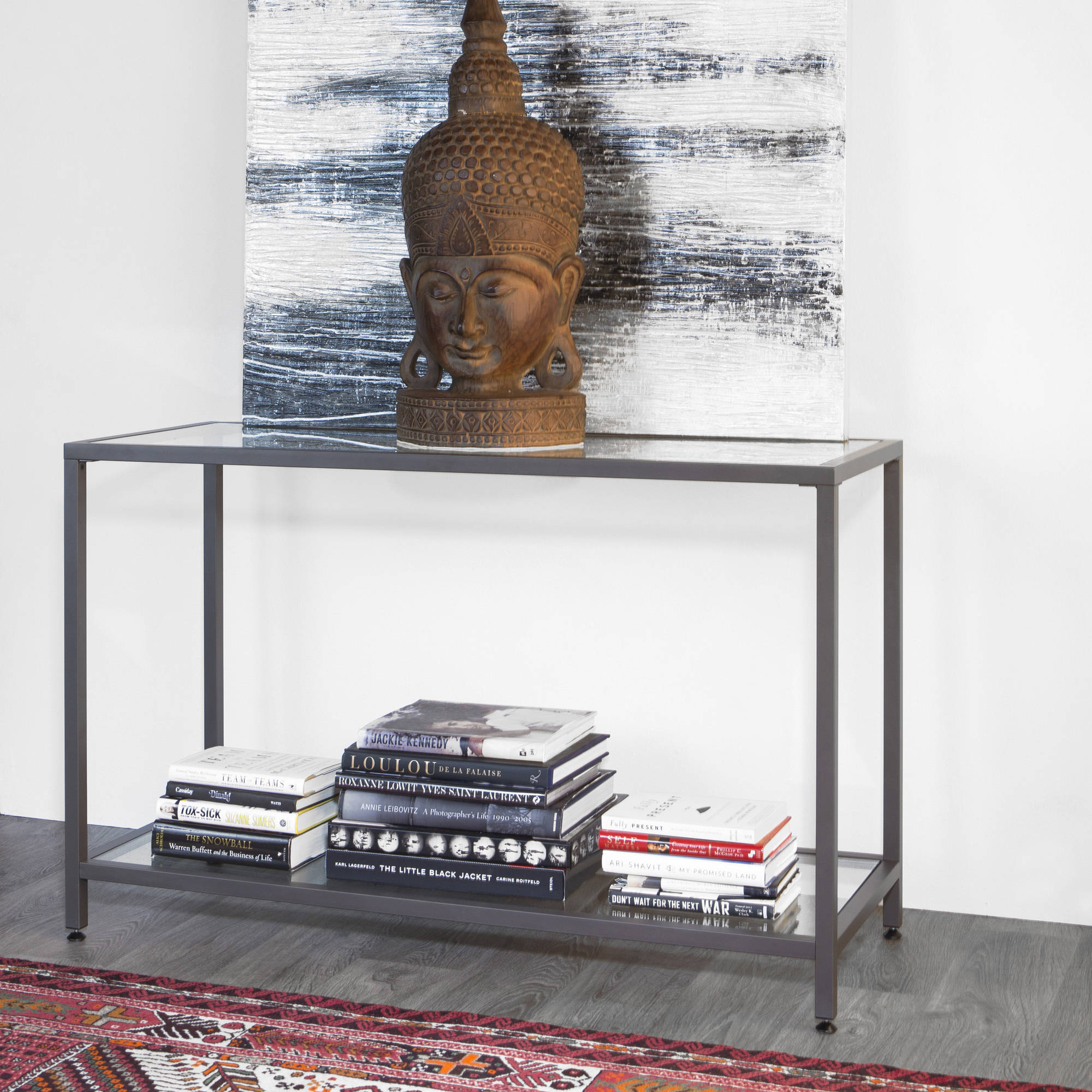 Studio Designs Home Camber Console Table, Pewter
