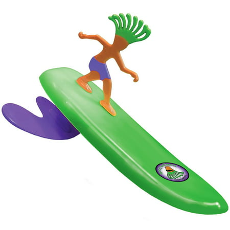 Surfer Dudes 2019 Edition Wave Powered Mini-Surfer and Surfboard Toy - Donegan Doolin - - Bearded Dude