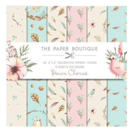 The Paper Boutique Dawn Chorus 6x6 Paper Pad
