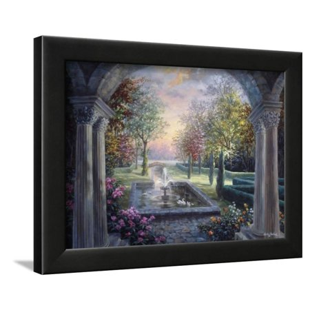 Soulful Mediterranean Tranquility Framed Print Wall Art By Nicky Boehme