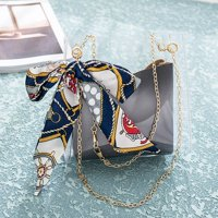 Fashion Lady Shoulders Jelly Package Letter Purse Mobile Phone Messenger Bag