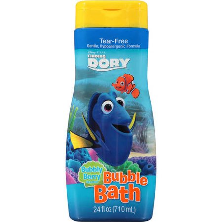 Disney Pixar Finding Dory Bubbly Berry Scented Bubble Bath, 24 fl oz