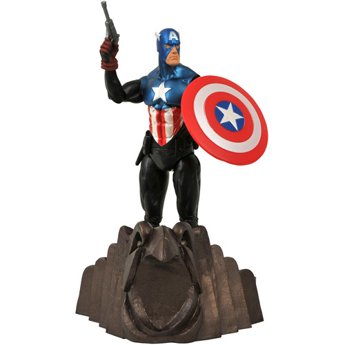 Diamond Select Toys Marvel Select Captain America Action Figure