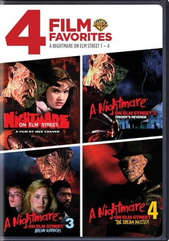4 Film Favorites: A Nightmare On Elm Street 1-4 (DVD) by New Line Home Video