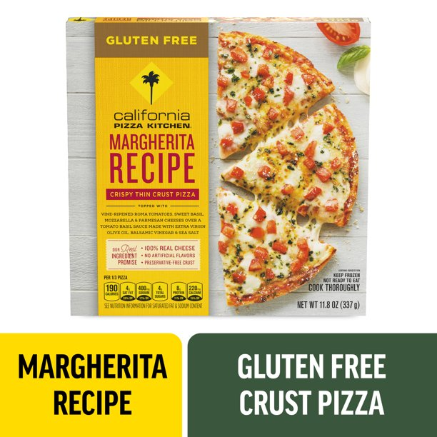 California Pizza Kitchen Margherita Recipe Gluten Free Pizza 11 8 Oz Walmart Com Walmart Com