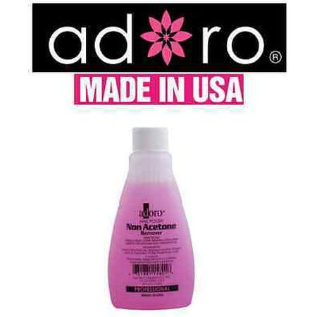 Acetone Nail Polish - LWS LA Wholesale Store  ADORO NON ACETONE NAIL POLISH REMOVER PROFESSIONAL MADE IN USA like mia secret