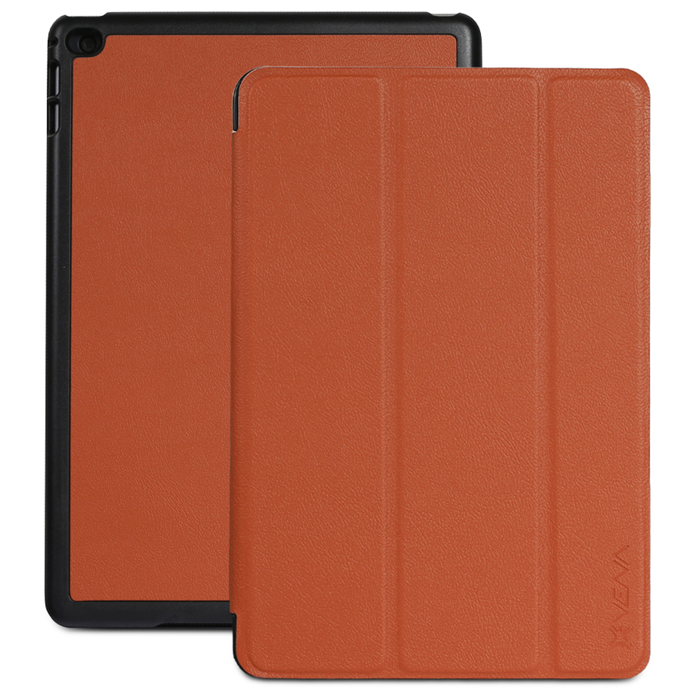 Vena for Apple iPad Mini 2 w/ Retina Display (2013) / iPad mini 3 (2014) Case [vCover]  Auto Sleep / Wake Case (Brown)