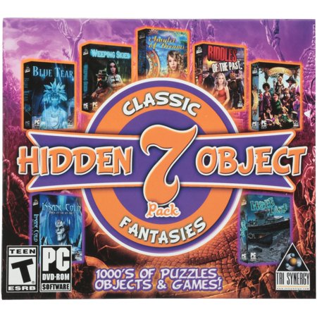 Classic Fantasies Hidden Object PC DVD-ROM (Fantasy Games For Pc)