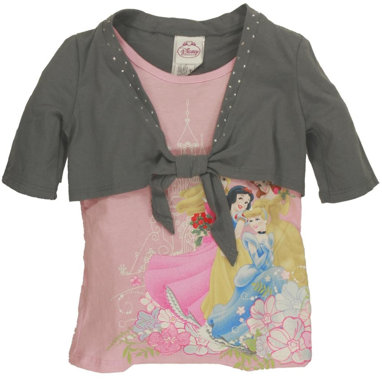 Disney Princesses - Castle Trio Girls Juvy Shrug 2Fer