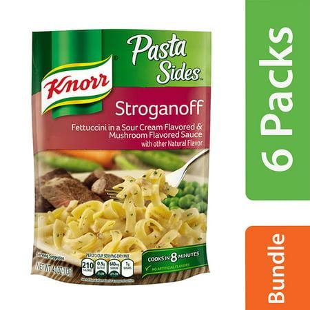 Knorr Creamy - (6 Pack) Unilever Knorr Pasta Sides Stroganoff, 4 oz