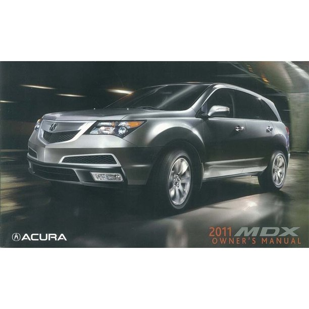 Bishko OEM Maintenance Owner's Manual Bound For Acura Mdx