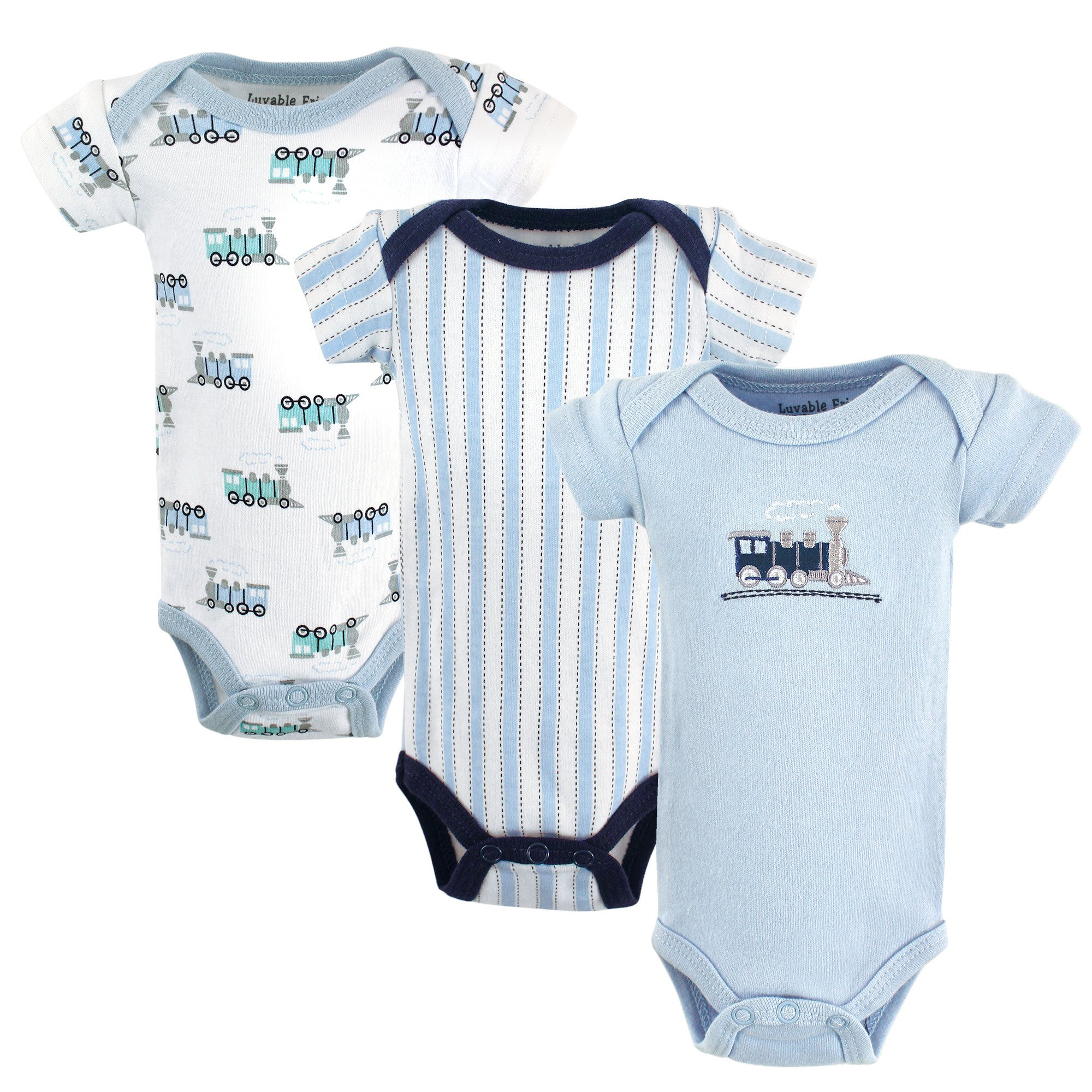 39f37381015f Luvable Friends Baby Bodysuits