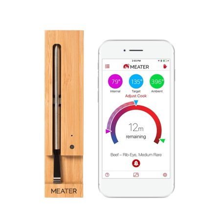Meater+ Smart Wireless Meat Thermometer (165ft Long (Meater The First Truly Wireless Smart Meat Thermometer)