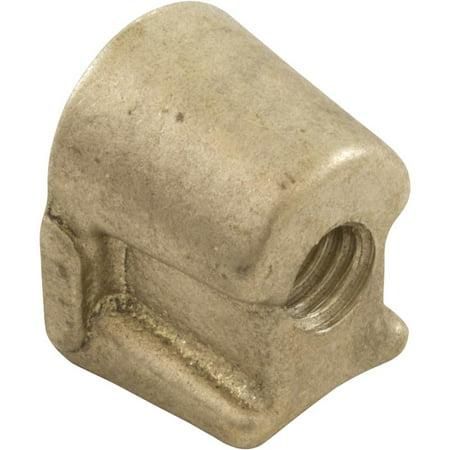 - Brass Wedge, Afras Industries, 1.9 Tubing, w/Integral Flange