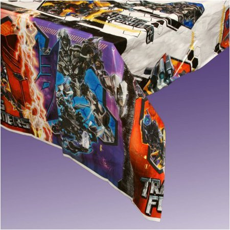 Transformers 54in x 96in Plastic Tablecover, By Factory Card and Party Outlet Ship from US - Factory Card Outlet Halloween Costumes