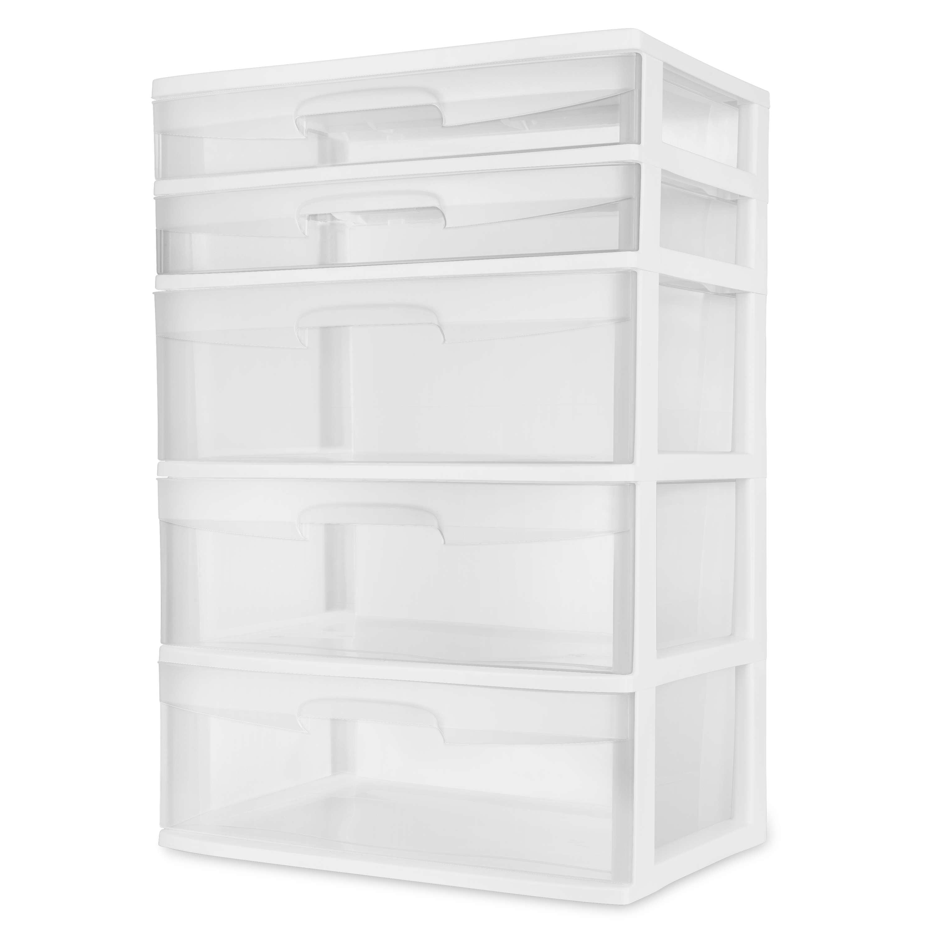 Sterilite  Drawer Wide Tower White