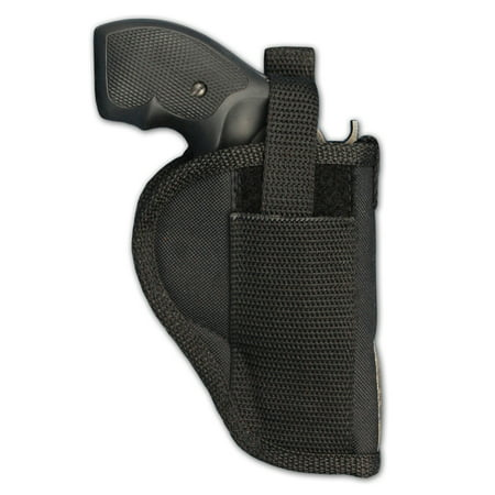 Barsony Right Hand Draw Outside the Waistband Gun Holster Size 3 Charter Arms Colt Ruger S&W Taurus small/medium .22 .38 .44 .357