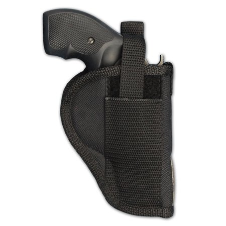 Barsony Right Hand Draw Outside the Waistband Gun Holster Size 3 Charter Arms Colt Ruger S&W Taurus small/medium .22 .38 .44 .357 (Ruger 10 22 Best Scope)