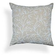 A1 Home Collections Gwen Beige Linen Pillow