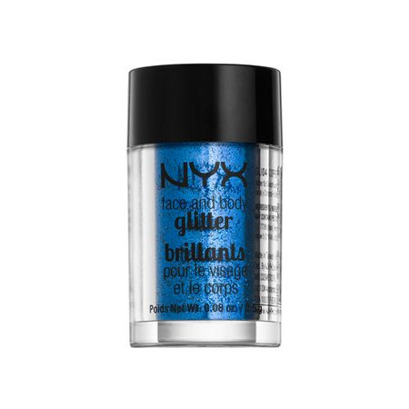 Nyx Glitter - NYX Face & Body Glitter 01 Blue