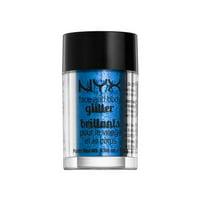 NYX Face & Body Glitter 01 Blue
