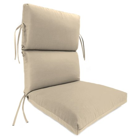 Jordan Manufacturing High Outdura Back 20 in. Dining Chair Cushion