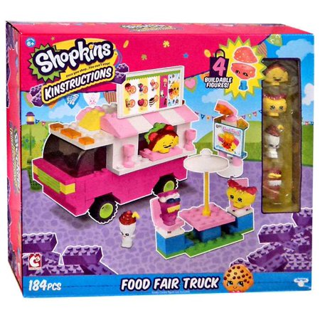 Shopkins Kinstructions Food Fair Truck 37360 - Buy Shopkins