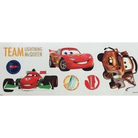 Disney CARS Wall Stickers Lightning McQueen Mater Francesco Room Decor - Disney Car Stickers