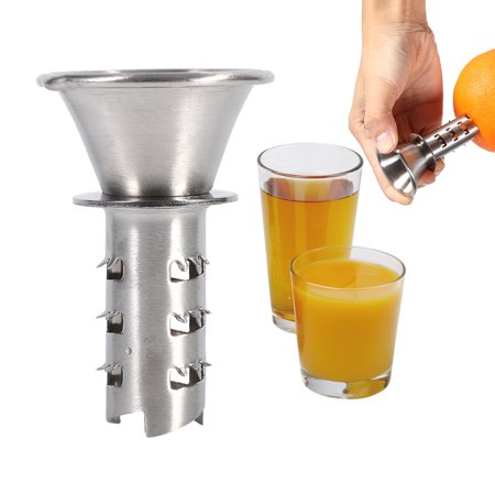 Ejoyous Practical Stainless Steel Orange Lemon Lime Juicer Hand Manually Fruit Squeezer Kitchen Tool , Fruit Squeezer, Fruit Juicer - image 8 of 8