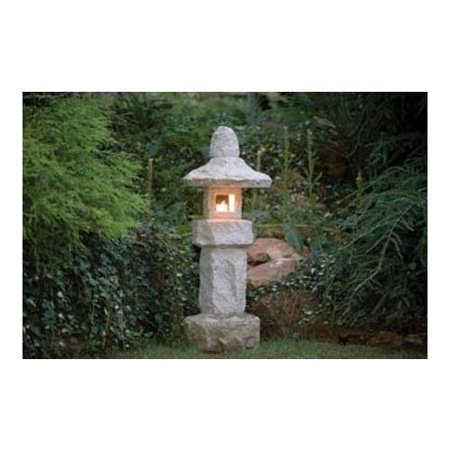 Stone Age Creations La Tg 40 Granite 40  Gold Tier Lantern Natural Stone